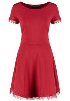 Dorothy Perkins Vestido De Algodon Red vestidos y faldas Vestido red Perkins Dorothy algodón Noe.Moda