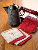Dish cloths for a gift basket.