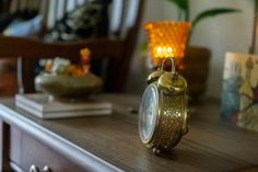 Affinity for antiques home tour of Rushika & Dipkal's - the antique clock at the corner of the room Mood Lights, Palo Alto Apartment, House Interior Decor, Decor, Decorating Blogs, Bronze Decor, Candle Stand, Elements Of Color, Vintage Clock