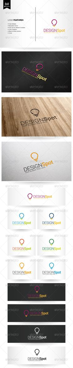 Question and Idea Logo  #GraphicRiver         Logo template suitable for Research and Studies, Graphic works, App or Software, Online activities, technology related industry, Personal logo, etc…