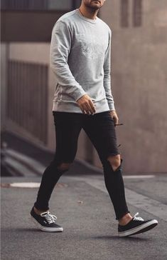 118 incredible urban dresses swag ideas – page 1 Sweater Outfits, Casual Outfits, Casual Shoes, Vans Outfit Men, Stylish Men, Men Casual, Mens Fashion Wear, Business Outfits, Business Clothes