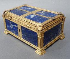 Large Lapis Lazuli Casket Italy, probably Rome 17th century