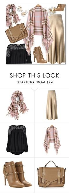 """""""Pink Khaki"""" by pavicmartina ❤ liked on Polyvore featuring Givenchy, Limited Edition, Valentino and Topshop"""