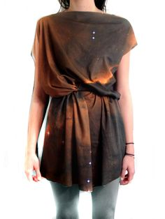 672d3686d2 Eagle Nebula Space Dress Organic Cotton Jersey by shadowplaynyc