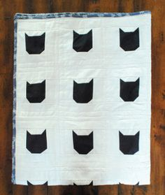 This Black Cat Halloween Quilt is easy to make and perfect for your Halloween sewing projects. Create this spooky quilt on time for the holiday and cuddle up with it afterwards. Cat lovers will go mad for this purrrfect DIY quilt.