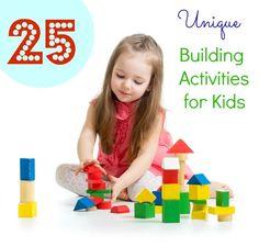 building activities for kids