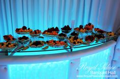 Wedding fruit table at Royal Palace Banquet Hall Glendale CA 818.502.3333