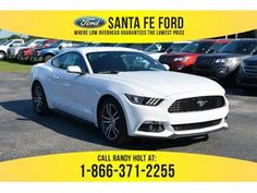 2017 White Ford Mustang EcoBoost 371502 Ford Mustang Ecoboost, 2017 Ford Mustang, Bmw, Awesome, Check