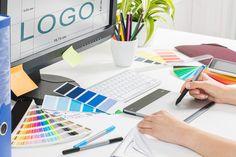 Design trends 2018 - Online en offline marketing - Sterk in MEDIA Logo Design Tips, Web Design Logo, Best Logo Design, Logo Design Services, Graphic Design, E Learning, We Do Logos, Design Trends 2018, Logo Creation