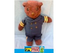 vintage teddy bear $20.00