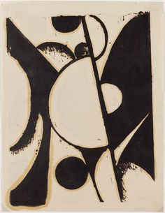Abstraction in Ink and Brown | Museum of Fine Arts, Boston