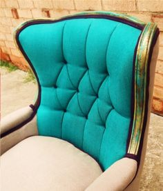 Teal me more! I wold love to have a happy chair!!!