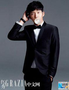 Chinese actor Jing Boran  http://www.chinaentertainmentnews.com/2015/07/jing-boran-poses-for-grazia-magazine_1.html