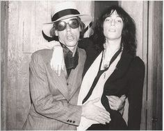 Iggy Pop & Patti Smith