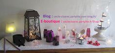 Ma e-boutique PartyLite : https://cecilecloarec.partylite.fr/Shop - Photo Cécile Cloarec