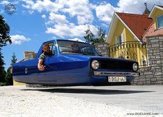 VW MK1 Caddy Hoverwagen, Hover car