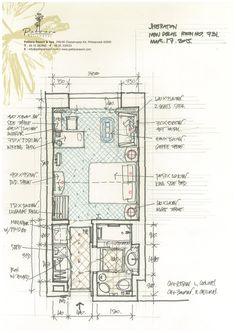 Pattara Resort & Spa Floor Plan Sketch, Floor Plan Layout, Hotel Floor Plan, House Floor Plans, Apartment Layout, Apartment Plans, Lofts, Resort Plan, House Layout Plans