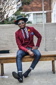 Mandla Duch Thabethe Project Inflamed fashion, men's fashion menswear men's bracelets menswear editorial men and women, high fashion, black men fashion Hip Hop Fashion, Fashion Black, Boy Fashion, High Fashion, Winter Fashion, Fashion Ideas, Dapper Gentleman, Mens Fall, Fashion Menswear