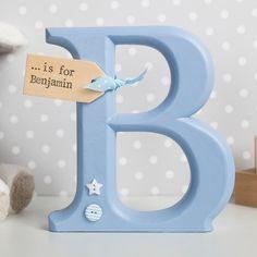 Personalised Wooden Ornamental Letter | GettingPersonal.co.uk