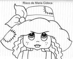 menina de chapéu - Maria Cidoca