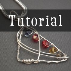 Angled Frame Pendant | Jewelry Pattern | YouCanMakeThis.com