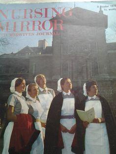 front cover Nursing Mirror october 1970