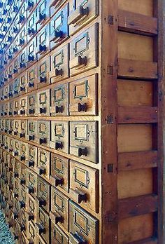 Large Vintage Oak Haberdashery Cabinet Industrial Apothecary Bank of 150 Drawers