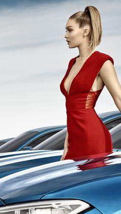 ☺ Gigi Hadid - BMW M2 Coupe