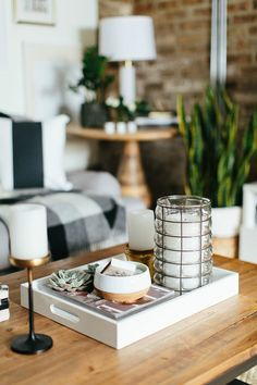 Coffee Table Decor Tray Unique Top 10 Best Coffee Table Decor Ideas  Ottomans Trays And Layering Inspiration Design