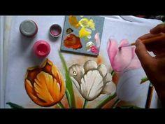 tulipas coloridas - YouTube