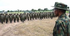 Troops kill 4 Boko Haram insurgents neutralise 4 suicide bombers  Maiduguri  Nigerian Army on Saturday said its troops killed four Boko Haram insurgents at Malumti village in the fringes of Sambisa Forest.  President Buhari interacts with troops of HQ 1 BDE in Dansadau Zamfara State as part of the 2016 Nigerian Army Day celebration on 13th July 2016File PhotodBrig.-Gen. Onyema Nwachukwu the Deputy Director Army Public Relations Operation Lafiya Dole made the disclosure in a statement in…