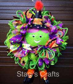 Halloween Witchy Wreath