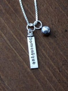 Softball Hypoallergenic Softball Moms Necklace Softball Jewelry US Softball Necklace Softball Necklace Softball Necklace US United States Softball Team Necklace Adjustable 15 to 18 Inches