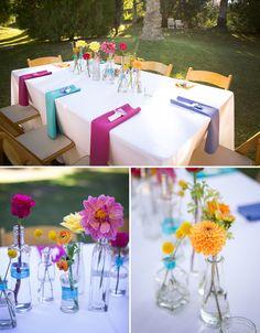 Palm Springs Love Ball Wedding: Alicyn + Jason! Perfect idea for DIY Flowers! www.bloomsbythebox.com