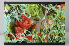The garden, pop-up for the book New Botany, 2013, prototype, 26 x 43 x 30 cm