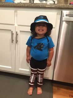 Panthers from head to toe!