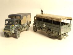 Airfix Bedford Trucks
