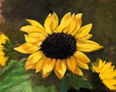 Art Ideas, Pastel, Plants, Painting, Cake, Painting Art, Paintings, Plant, Painted Canvas