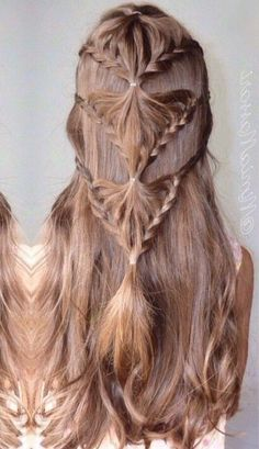 Long Box Braids: 67 Hairstyles To Upgrade Your Box Braids - Hairstyles Trends Unique Braided Hairstyles, Try On Hairstyles, Box Braids Hairstyles, Kids Wedding Hairstyles, Unique Braids, Hairstyles 2018, Braided Updo, Curly Hair Styles, Natural Hair Styles