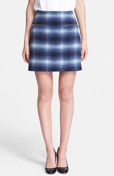kate spade new york zip pocket miniskirt available at #Nordstrom