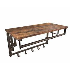 Williston Forge | Wayfair.ca Large Shelves, Wood Shelves, Storage Shelves, Shoe Storage, Storage Basket, Open Shelving, Coat Hook Shelf, Rack Shelf, Coat Hooks