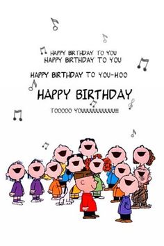 Charlie Brown Birthday | Birthday Cards - Classic Ecards | jimpix ecards