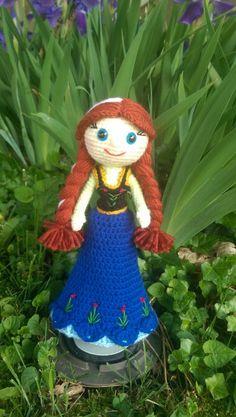 Crochet princess Anna