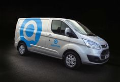 Livery for Quantum Cryogenics delivery van.
