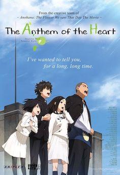 The Anthem of the Heart / 心が叫びたがってるんだ。 / Kokoro ga sakebitagatterunda Otaku Anime, Manga Anime, Good Anime To Watch, Anime Watch, Anime Love, Anthem Of The Heart, Kokoro Ga Sakebitagatterunda, Anime Reccomendations, Anime Suggestions