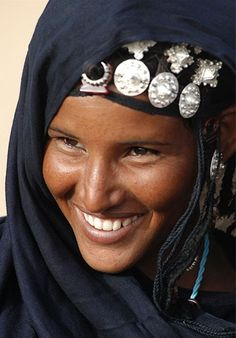 Beautiful Photos From The World Beautiful Smile, Black Is Beautiful, Beautiful People, African Beauty, African Women, Tuareg People, Beauty Around The World, African Culture, Interesting Faces
