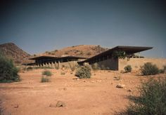 Frank Llyod Wright - The Price House on Tatum Road in Paradise Valley, AZ.