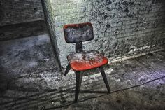 I wonder how many children spent their time in this timeout chair