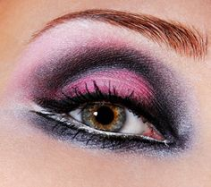 pink makeup :3