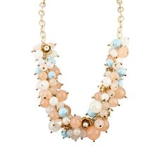 Multi Beaded Necklace by RJ Graziano